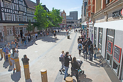 ©Licensed to London News Pictures 15/06/2020<br /> Bromley, UK. Hundreds of people queuing down Bromley high street for Primark in Bromley, South East London. Shops around the UK have reopened their doors today after three months on Coronavirus lockdown. Photo credit: Grant Falvey/LNP