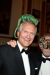 CHARLES DELEVINGNE at The Animal Ball in aid of The Elephant Family held at Lancaster House, London on 9th July 2013.