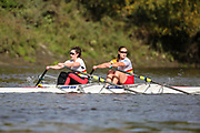 Crew: 58 - Bloomer / Polglase - Tideway Scullers School - W 2x Championship <br /> <br /> Pairs Head 2020
