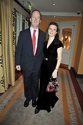LORD NORTHBROOK and CHARLOTTE PIKE at the 3rd Fortune Forum Summit held at The Dorchester Hotel, Park Lane, London on 3rd March 2009.