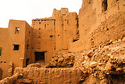 Mud houses in the Casbah Ait Bujan in the Todra Gorge, Dades Valley, Morocco