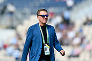 BBC Test Match Special commentator Phil Tufnel during the first day of the 4th SpecSavers International Test Match 2018 match between England and India at the Ageas Bowl, Southampton, United Kingdom on 30 August 2018.