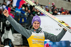 Andreas Wellinger (GER), second placed in Overall Ski Flying classification celebrates at trophy ceremony after the Ski Flying Hill Men's Individual Competition at Day 4 of FIS Ski Jumping World Cup Final 2017, on March 26, 2017 in Planica, Slovenia. Photo by Vid Ponikvar / Sportida