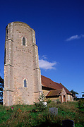 ATBJ9C All Saints Ramsholt church Suffolk England