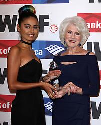 """Nelufar """"Nel"""" Hedayat und Diane Rehm bei den Courage in Journalism Awards in Beverly Hills / 201016<br /> <br /> *** 27th Annual International Women's Media Foundation Courage in Journalism Awards held at the Beverly Wilshire Hotel in Beverly Hills, USA, October 20, 2016 ***"""