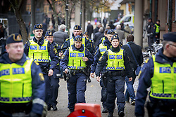 October 31, 2016 - Lund, Sweden - Swedish police high security for Pope Francis visit...Commemorations for the 500th anniversary of the Reformation, Lund, Sweden (Credit Image: © Aftonbladet/IBL via ZUMA Wire)