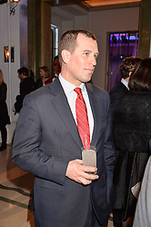 Peter Phillips at the 4th Longines World's Best Racehorse Ceremony, Claridge's, Brook Street, London England. 24 January 2017.