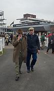 RAY GREEN; JOHN BAYER, The Cheltenham Festival Ladies Day. Cheltenham Spa. 11 March 2015