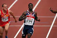 Friidrett , 7. juli 2006 , Gøteborg , EM , Europamesterskapet ,<br /> Athletics , European  Championship <br /> Dwain Chambers , GBR