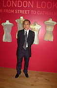 Jimmy Choo, Party hosted by Alexandra Shulman, Rupert Hambro and Prof  Jack Lohman to open 'The London Look, Fashion from Street to Catwalk', Museum of London. ONE TIME USE ONLY - DO NOT ARCHIVE  © Copyright Photograph by Dafydd Jones 66 Stockwell Park Rd. London SW9 0DA Tel 020 7733 0108 www.dafjones.com