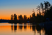Dawn on Lake of The Woods<br />