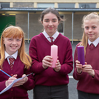 Suzy Brown, Emma Shannon and Aoife Bolton with their Jessies idea 'Therapy Candles'