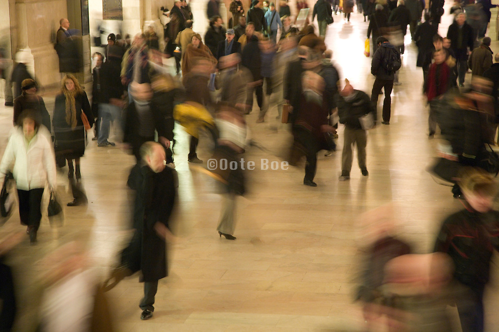commuters rushing to catch the train and or getting on time to there office