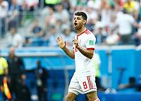 Morteza Pouraliganji (Iran)<br /> Saint Petersburg 15-06-2018 Football FIFA World Cup Russia  2018 <br /> Morocco - Iran / Marocco - Iran <br /> Foto Matteo Ciambelli/Insidefoto