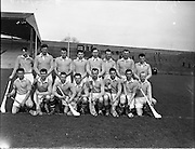 Interprovincial Railway Cup Hurling Semi-Final, .Ulster v Leinster, .Ulster.21.02.1960, 02.21.1960, 21st February 1960,
