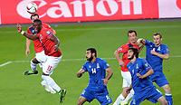 Fotball <br /> UEFA Euro 2016 Qualifying Competition<br /> 12.06.2015<br /> Norge v Aserbajdsjan / Norway v Aserbajdsjan<br /> Foto: Morten Olsen/Digitalsport<br /> <br /> Adama Diomande (13) - NOR