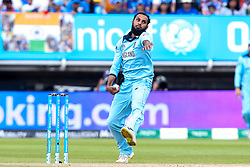 Adil Rashid of England - Mandatory by-line: Robbie Stephenson/JMP - 30/06/2019 - CRICKET - Edgbaston - Birmingham, England - England v India - ICC Cricket World Cup 2019 - Group Stage