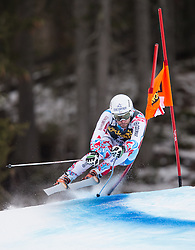 19.12.2013, Saslong, Groeden, ITA, FIS Ski Weltcup, Groeden, Abfahrt, Herren, 2. Traininglauf, im Bild Brice Roger (FRA) // Brice Roger of France in action during mens 2nd downhill practice of the Groeden FIS Ski Alpine World Cup at the Saslong Course in Gardena, Italy on 2012/12/19. EXPA Pictures © 2013, PhotoCredit: EXPA/ Johann Groder