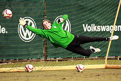17.03.2010, Weserstadion, Bremen, GER, UEFA Europa League, Abschlusstraining Werder Bremen, im Bild Tim Wiese (GER Werder #01). EXPA Pictures © 2010, PhotoCredit: EXPA/ nph/  Arend