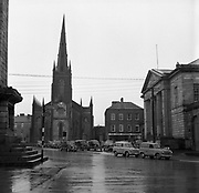 Towns in Ireland, Church Square, Monaghan Town<br /> 04/04/1957