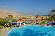 The swimming pool at Kibbutz Ein Gedy, Dead Sea, Israel