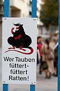 Vienna, Karl-Marx-Hof. Who's feeding doves is feeding rats.