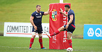 Rugby Union - 2017 British & Irish Lions Tour of New Zealand - Captains Run<br /> <br /> Sean O'Brien and Ben Te'o of The British and Irish Lions at the QBE Stadium, Auckland.<br /> <br /> COLORSPORT/LYNNE CAMERON