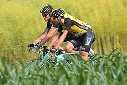 June 17, 2017 - Schaffhausen, Suisse - SCHAFFHAUSSEN, SWISS - JUNE 17 : BOOM  Lars (NED) Rider of Team Lotto NL - Jumbo, MARTENS Paul of Team LottoNL-Jumbo during stage 8 of the Tour de Suisse cycling race, a stage of 100 kms between Schaffhaussen and Schaffhaussen on June 17, 2017 in Schaffhaussen, Swiss, 17/06/2017 (Credit Image: © Panoramic via ZUMA Press)