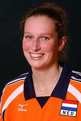 29-10-2001 VOLLEYBAL: JONG ORANJE DAMES: ZEIST<br /> Portretfoto Dames Jong Oranje / <br /> ©2001-WWW.FOTOHOOGENDOORN.NL