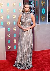 Laura Whitmore attending the 72nd British Academy Film Awards held at the Royal Albert Hall, Kensington Gore, Kensington, London.