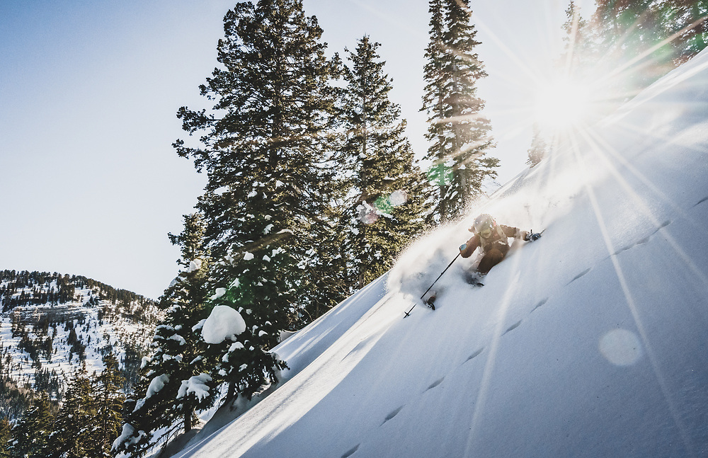 Insert witty quote. Kaylin Richardson in her Wasatch Mountains, Utah.