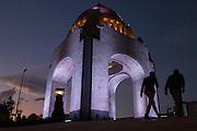 Monumento a la Revolución, 12 de enero de 2015. (Foto: Prometeo Lucero)