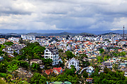 Cityscape of Dalat from the Cable Car Station. RAW to Jpg