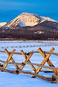 Beaverhead Mountain Range, Montana.