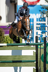 Bost Roger Yves, (FRA), Nippon d' Elle<br /> Telus Cup<br /> Spruce Meadows Masters - Calgary 2015<br /> © Hippo Foto - Dirk Caremans<br /> 09/09/15