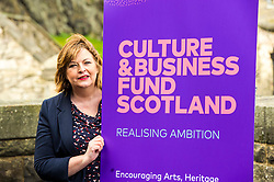 EMBARGOED UNTIL 00:01 3 APRIL 2017  FREE TO USE  FREE TO USE FREE TO USE<br /> Pictured: Fiona Hyslop. <br /> On Friday, Culture Secretary Fiona Hyslop visited Edinburgh Castle and launched the Culture & Business Fund Scotland. Funded by the Scottish Government via Creative Scotland and Historic Environment Scotland the fund will encourage the development of arts, heritage and business partnerships<br /> <br /> Ger Harley   EEm 31 March 2017