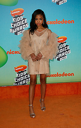 March 23, 2019 - Los Angeles, CA, USA - LOS ANGELES, CA - MARCH 23: Navia Robinson attends Nickelodeon's 2019 Kids' Choice Awards at Galen Center on March 23, 2019 in Los Angeles, California. Photo: CraSH for imageSPACE (Credit Image: © Imagespace via ZUMA Wire)