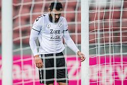 26-10-2016 NED: KNVB beker FC Utrecht, - Fc Groningen, Utrecht<br /> FC Utrecht heeft zich geplaatst voor de achtste finales van de KNVB-beker. De verliezend finalist van vorig seizoen rekende in stadion Galgenwaard af met FC Groningen, bekerwinnaar in 2015 / Nacer Barazite #10