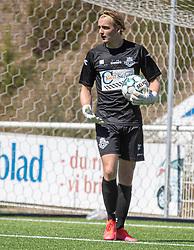 Frederik Rej-Rosenqvist (FC Helsingør) under træningskampen mellem FC Helsingør og HIK den 1. august 2020 på Helsingør Ny Stadion (Foto: Claus Birch).