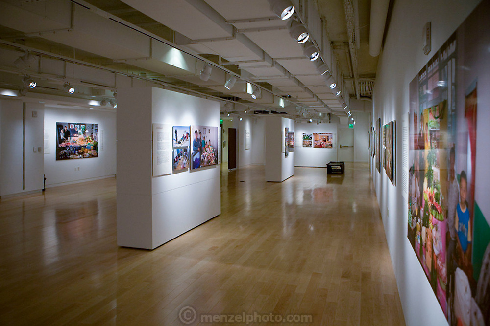 San Francisco, CA. Hungry Planet photo exhibit at the Museum of the African Diaspora.