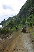 4 wheel motorcycle, Pitcairn Island<br />