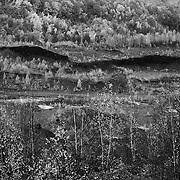 Anthracite Strip Mine near Pottsville, PA