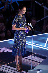 LOS ANGELES - AUGUST 27: Gal Gadot on the 2017 'MTV Video Music Awards' at The Forum on August 27, 2017 in Los Angeles, California. (Photo by Frank Micelotta/PictureGroup)