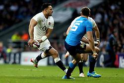 Ben Te'o of England passes the ball - Mandatory by-line: Robbie Stephenson/JMP - 26/02/2017 - RUGBY - Twickenham Stadium - London, England - England v Italy - RBS 6 Nations round three