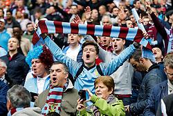 Aston Villa supporters - Photo mandatory by-line: Rogan Thomson/JMP - 07966 386802 - 19/04/2015 - SPORT - FOOTBALL - London, England - Wembley Stadium - Aston Villa v Liverpool - FA Cup Semi Final.