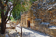 A deserted mosque at the Hermon Stream Nature reserve (Banias) Golan Heights Israel