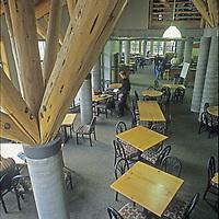 White Salmon Lodge at Mount Baker Ski Area, Washington.