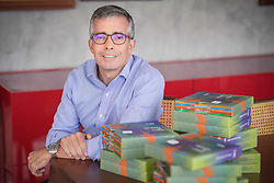 Idealizada pelo advogado e empresário Rafael Bicca Machado, a Editora Borunga lança 'Banco de Histórias', com livros de educação financeira para crianças. FOTO: Jefferson Bernardes/ Agência Preview