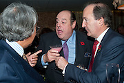 DAVID TANG; NICHOLAS SOAMES; CHARLES MOORE, Launch of Nicky Haslam's book Redeeming Features. Aqua Nueva. 5th floor. 240 Regent St. London W1.  5 November 2009.  *** Local Caption *** -DO NOT ARCHIVE-© Copyright Photograph by Dafydd Jones. 248 Clapham Rd. London SW9 0PZ. Tel 0207 820 0771. www.dafjones.com.<br /> DAVID TANG; NICHOLAS SOAMES; CHARLES MOORE, Launch of Nicky Haslam's book Redeeming Features. Aqua Nueva. 5th floor. 240 Regent St. London W1.  5 November 2009.
