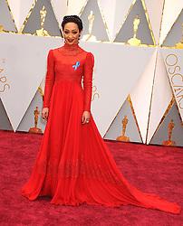 February 27, 2017 - Los Angeles, California, United States of America - 2/26/17.Ruth Negga at the 89th Annual Academy Awards (Oscars)..(Hollywood, CA, USA) (Credit Image: © Starmax/Newscom via ZUMA Press)